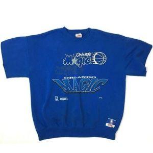 90s Orlando Magic Crewneck Cutoff XL Sweatshirt